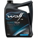 Ulei motor WOLF Guardtech, 15W40, 4L