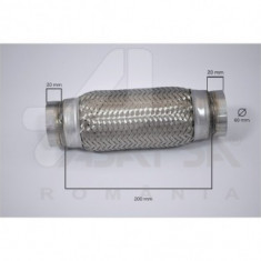 Racord flexibil esapament 60x200 mm