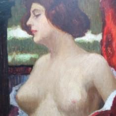 NUD, SEMNAT INDESCIFRABIL, PERIOADA INTERBELICA - Pictor roman