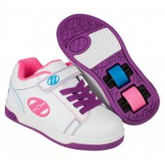 Heelys X2 Dual Up White/Purple/Neon Multi