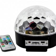 Cumpara ieftin Glob Disco Cu Senzor De Muzica Lumini Disco 6 culori