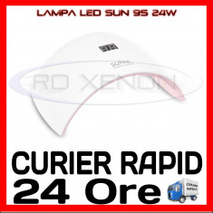 Lampa LED SUN 9S 24W, MANICHIURA UNGHII FALSE GEL, OJA SEMIPERMANENTA