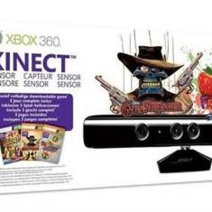 Set Kinect Sensor Bundle Kinect Adventures Fruit Ninja And Gunstringer Xbox360 - Jocuri Xbox 360