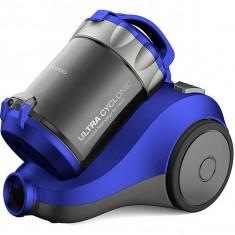 Aspirator fara sac Daewoo RCC-120L/2A 2 litri 800W Albastru - Aspirator cu sac