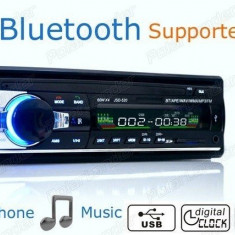 Cumpara ieftin Casetofon Auto Bluetooth USB MP3 player Radio Telefon Telecomanda 50w