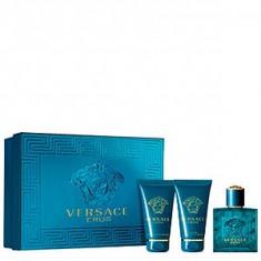 Versace Eros Set 50+50+50 pentru barbati - Set parfum