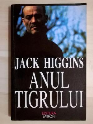 Jack Higgins - Anul tigrului foto