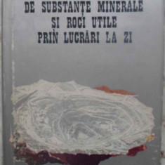 Exploatarea Zacamintelor De Substante Minerale Si Roci Utile - Gheorghiu Grigore, Fodor Dumitru, Popescu Valeriu,, 414858 - Carti Constructii