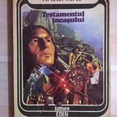 Karl May – Testamentul incasului - Carte de aventura