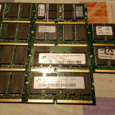 Ram laptop sodimm SD SDRAM 256MB SYNC 133MHZ KIT 512MB, 512 MB, 333 mhz, A-data