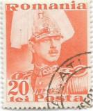 Carol II Posta, 1935, 20 lei, obliterat (5), Regi, Stampilat