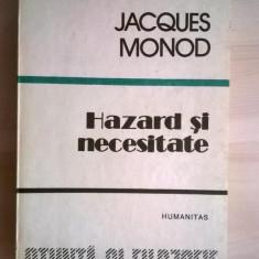 Jacques Monod – Hazard si necesitate