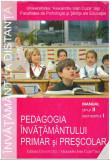Pedagogia invatamantului primar si prescolar - Autor(i): Facultatea de Psihologie si Stiinte ale Educatiei
