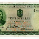 Bancnota 500 lei 1934