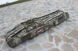 Husa Transport Lansete Geanta FL 1,35 Metri 4 Compartimente + 4 Mulinete waterpr