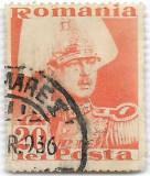 Carol II Posta, 1935, 20 lei, obliterat (1)