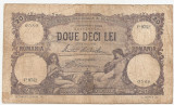 ROMANIA 20 LEI SEPTEMBRIE 1929 U
