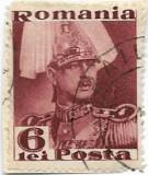 Carol II Posta, 1935, 6 lei, obliterat (1)