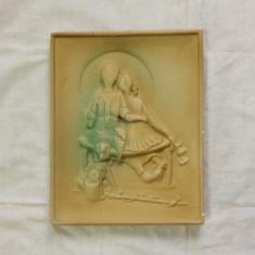 Tablou aplica ghips turda aplica copii la pescuit 1983