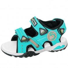 Sandale pentru baietei AMERICAN CLUB 259/14, Albastru - Sandale copii