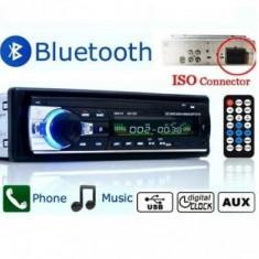 Casetofon Auto Bluetooth USB MP3 player Radio Telefon Telecomanda 60w - CD Player MP3 auto