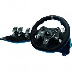 Gamepad volan cu pedale Logitech G920 pentru XBox One si PC, Volane si pedale