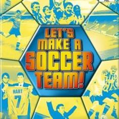 Lets Make A Soccer Team Ps2, Sega