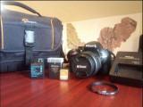 Nikon D5200 kit 18-55mm VR II + geanta Lowerpro + accesorii