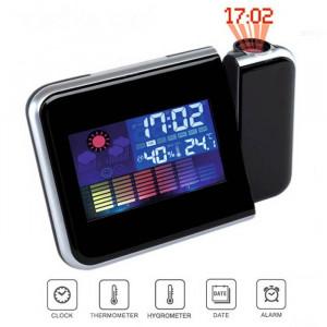Ceas Digital Cu Proiector Si Statie Meteo DS 8190