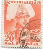 Carol II Posta, 1935, 20 lei, obliterat (2), Regi, Stampilat