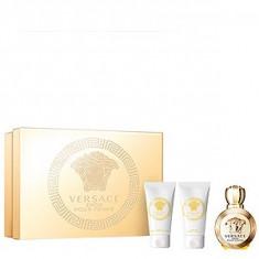 Versace Eros Pour Femme Set 50+50+50 pentru femei - Set parfum