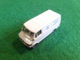 Wiking MERCEDES Van Made in Germany scara 1:87 Macheta este din Plastic.