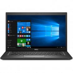 Laptop Dell Latitude 7490 14 inch FHD Intel Core i7-8650U 8GB DDR4 512GB SSD FPR Windows 10 Pro Black 3Yr NBD