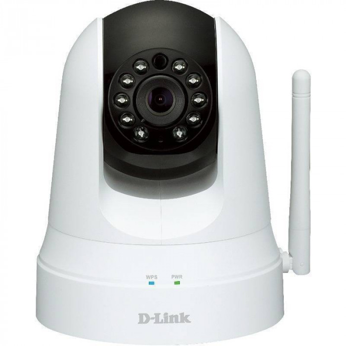 Camera supraveghere D-Link DCS-5020L IR Pan-Tilt Indoor Wireless Cloud foto mare