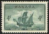 Canada 1949 - CORABIE, timbru nestampilat T256