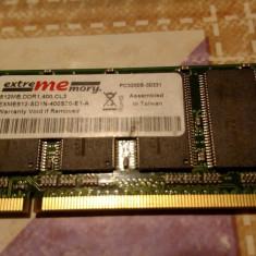 Ram laptop sodimm DDR DDR1 DDR400 512MB 400MHZ CL3 PC3200