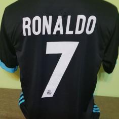 TRICOU RONALDO REAL MADRID SEZON 2017-2018 MARIMI XS, S, M, L, XL - Tricou echipa fotbal, Marime: L, M, S, Culoare: Alb, Negru, Verde