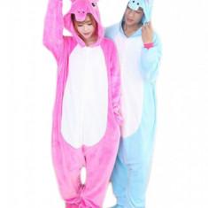 PJM43-552 Pijama intreaga kigurumi, model unicorn - Pijamale dama, Marime: S, M/L, S/M