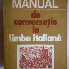 Doina Condrea-Derer - Manual de conversatie in limba italiana - Carte in italiana