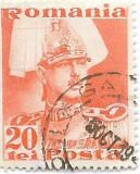 Carol II Posta, 1935, 20 lei, obliterat (4), Regi, Stampilat