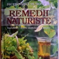 Remedii naturiste {Dictionarul Dumont}