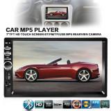 "Radio MP3 Player Auto Display 7"" 2DIN Bluetooth Touchscreen USB Card Reader"
