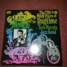 Turk Murphy Jazz Band -The Many Face Of Ragtime -Atlantic 1972 US vinil vinyl