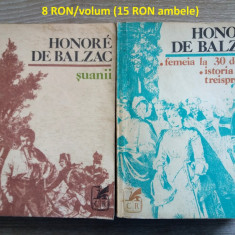 Lot 15 carti - HONORE de BALZAC - literatura universala, beletristica