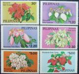 PILIPINAS - FLORI,  6 V, NEOBLIT. - PHL 07, Flora