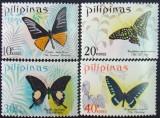 PILIPINAS - FLUTURI, 4 V,, NEOBLIT. - PHL 06, Fauna