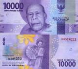 INDONEZIA 10.000 rupiah 2016 UNC!!!