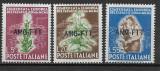 Trieste Zona A 1950, Nestampilat