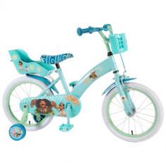 Bicicleta cu Roti Ajutatoare Vaiana 16 inch - Bicicleta copii