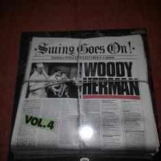 Woody Herman –Swing Goes On-Capitol 1978 Ger vinil vinyl